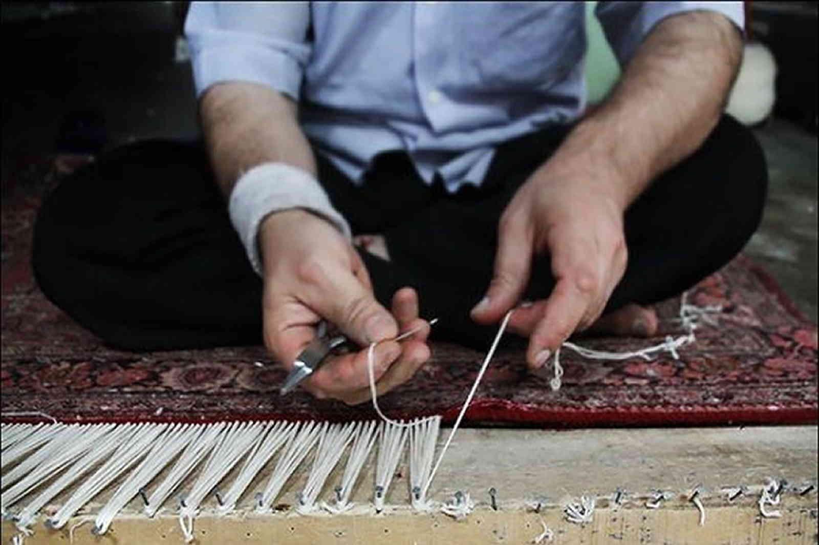 restore carpet fringe, rug fringe repair, rug repair, wool rugs repair